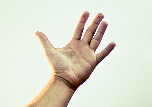 human hand