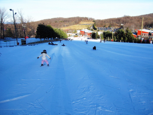 Eastern Exposure: Hitting (and falling on) the slopes